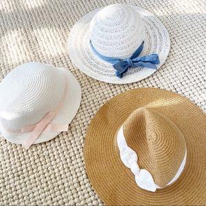 Summer hats lot girls 6-7